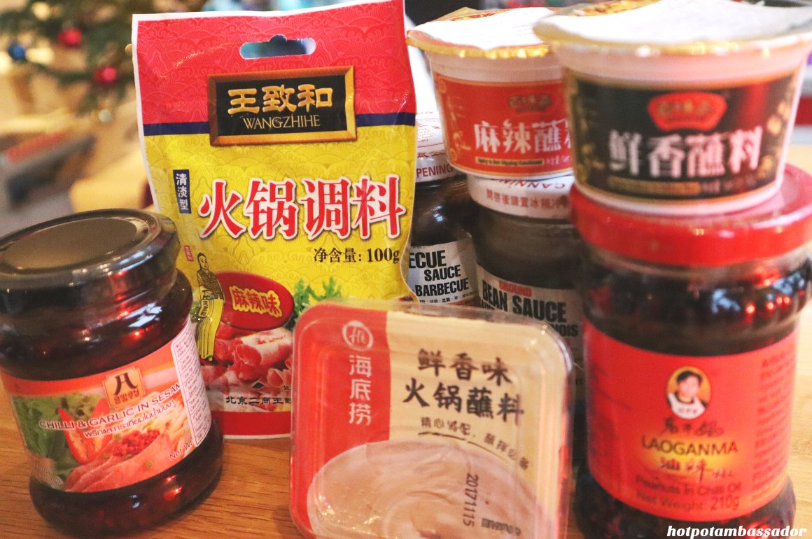 WHAT DIPPING SAUCES TO HAVE WITH HOTPOT